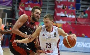 Strēlnieks un Porziņģis statistikas līderi 'Eurobasket 2017' pirmajās trīs kārtās