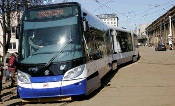 Sāk kursēt jauns 1. tramvaja maršruts 'Imanta-Jugla'