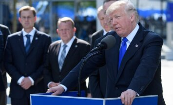 Tramps: NATO vairāk jāpievēršas terorismam, imigrācijai un Krievijas draudiem