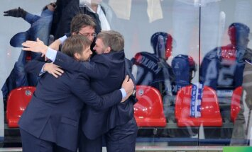 Oļega Znaroka vadītais Maskavas 'Dinamo' iekļūst Gagarina kausa finālā