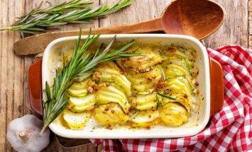 12 pavisam vienkārši kartupeļu sacepumi bez liekām sastāvdaļām