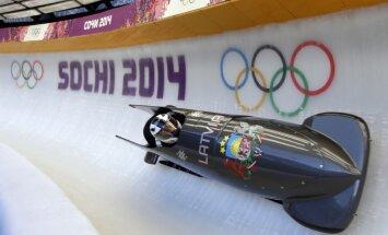 Melbārža divniekam piektā vieta pirmajā Olimpiādes treniņbraucienā