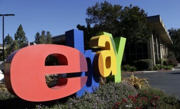 Darbībai Krievijas tirgū 'eBay' atvērs noliktavu Rīgā