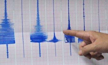 Meksikas izlases vārti Pasaules kausa spēlē rada nelielu zemestrīci Mehiko