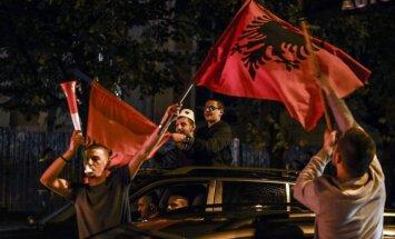 Albānijas futbola izlase sensacionāli kvalificējas Eiropas čempionātam