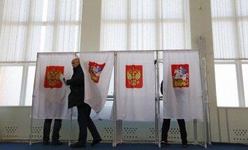 Piecos iecirkņos Latvijā var nobalsot Krievijas prezidenta vēlēšanās