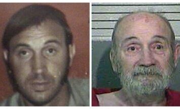 ASV policijai padodas 40 gadus bēguļojošs laupītājs; aresta brīdī izplūst asarās
