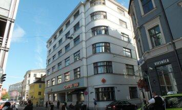 'Lattelecom' par 4,61 miljonu eiro pārdevis divus īpašumus Vecrīgā