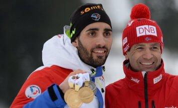Martin Fourcade Ole Einar Bjoerndalen