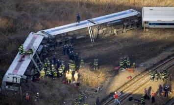 Bronksas traģēdija - avarējušais vilciens teju trīs reizes pārsniedzis atļauto braukšanas ātrumu