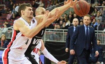 'VEF Rīga' Vienotās līgas regulārā turnīra pēdējās mājas spēlē zaudē 'Lokomotiv-Kubaņ'