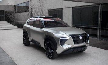 Konceptuāls 'Nissan' sešvietīgais apvidnieks 'Xmotion'