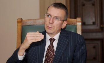 NATO klātbūtnei jābūt visās Baltijas valstīs, uzskata Rinkēvičs