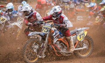 Latvijas 'Grand Prix' Stelpē PČ motokrosā blakusvāģiem startēs septiņas pašmāju ekipāžas