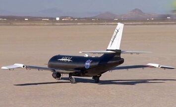 Video: NASA izmēģina lidmašīnu ar salokāmiem spārniem