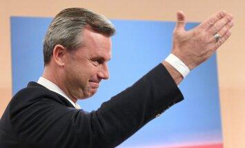 Norberts Hofers atzīst sakāvi Austrijas prezidenta vēlēšanās