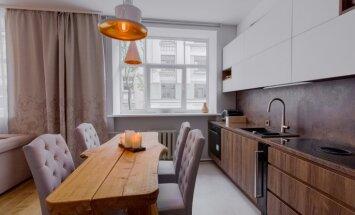 "ФОТО: ""Квартира-зефирка"" в Риге, дизайн которой делал экс-шеф-повар ресторана Vincents"