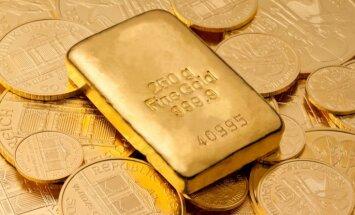 Nedēļas laikā par desmit miljardiem dolāru sarūk Krievijas zelta rezerves