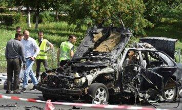 Sprādzienā Kijevā nogalināts specvienības vadītājs