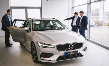 Foto: Jaunais 'Volvo V60' piedzīvo pirmizrādi Latvijā