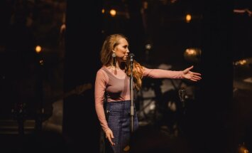 Foto: 'Astro'n'out' pulcē fanus Rīgas koncertā