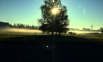 ФОТО: Туманное утро пятницы. Холода приближаются