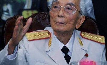 102 gadu vecumā miris Rietumus sakāvušais vjetnamiešu ģenerālis