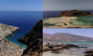 Paradīzes nostūris: trīs fantastiskas pludmales Krētā