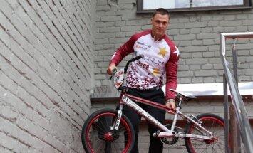 Divkārtējais olimpiskais čempions Štrombergs izveido BMX klubu 'Valmieras puikas'