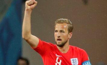 Keins kompensācijas laikā izrauj Anglijas izlasei uzvaru pār Tunisiju