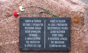 Krievija piedāvā Polijai apmainīties ar pieminekļiem