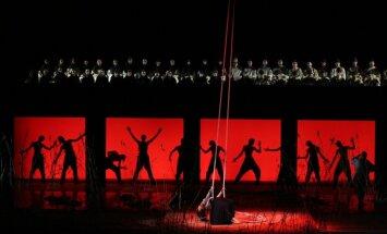 Gan operā, gan skvērā pie tās varēs vērot Sanktpēterburgas Marijas teātra viesizrādi