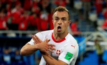 В Калининграде в матче ЧМ Сербия — Швейцария разгорелись страсти по Косово