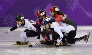 Noskaidroti olimpiskie čempioni šorttrekā 1000 metros vīriešiem un 1500 metros sievietēm