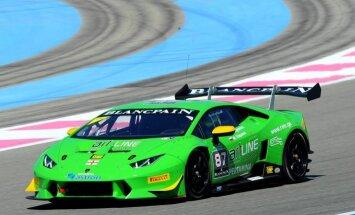 Haralds Šlēgelmilhs dodas uz 'Lamborghini Super Trofeo' pasaules finālu ASV
