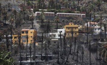 Vēja mitēšanās palīdzējusi ugunsdzēsēju cīņā ar postošajiem mežu ugunsgrēkiem Spānijā