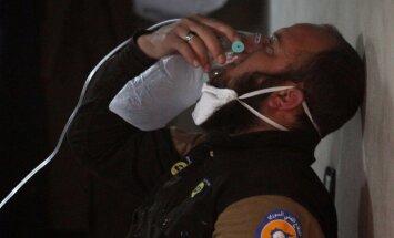 ASV veic izmeklēšanu par iespējamu Krievijas lomu Sīrijas ķīmisko ieroču uzbrukumā