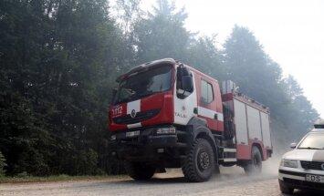 Valdgales ugunsgrēks noturēts izveidotā perimetra iekšpusē; sasaukta krīzes sēde