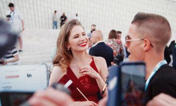 Portugāles mediji slavē Lauras Rizzotto eleganto stilu
