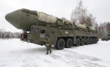 95% Krievijas kodolraķešu palaišanas iekārtu ir kaujas gatavībā, paziņo Šoigu