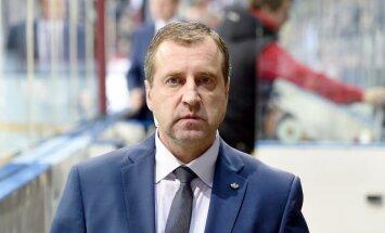 HK 'Rīga' galvenais treneris Cipruss: veidojam neatlaidīgu komandu
