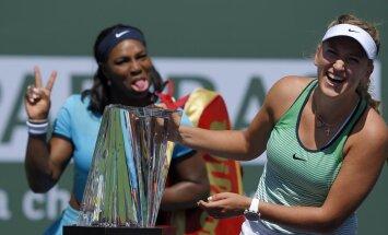 Serena Williams jokes Victoria Azarenka
