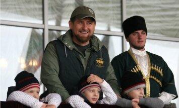 Скандал в Грозном: три сына Кадырова победили в детских боях по ММА