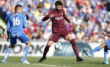 Paulinju izrauj 'Barcelona' uzvaru pār 'Getafe'