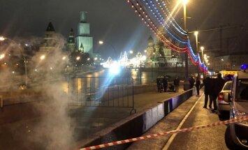 Убийство Немцова: некоторые камеры видеонаблюдения не работали