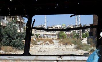 Активисты: сирийские военные вновь бомбят Алеппо