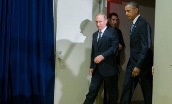 Путин и Обама договорились о встрече в понедельник