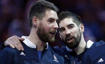 Divi slaveni Francijas handbolisti sodīti par dalību totalizatorā pret savu komandu