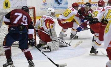 Latvijas hokeja klubu izlasei otra uzvara pār Ķīnu