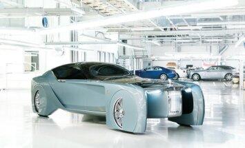 'Rolls-Royce' demonstrē nākamās simtgades limuzīnu
